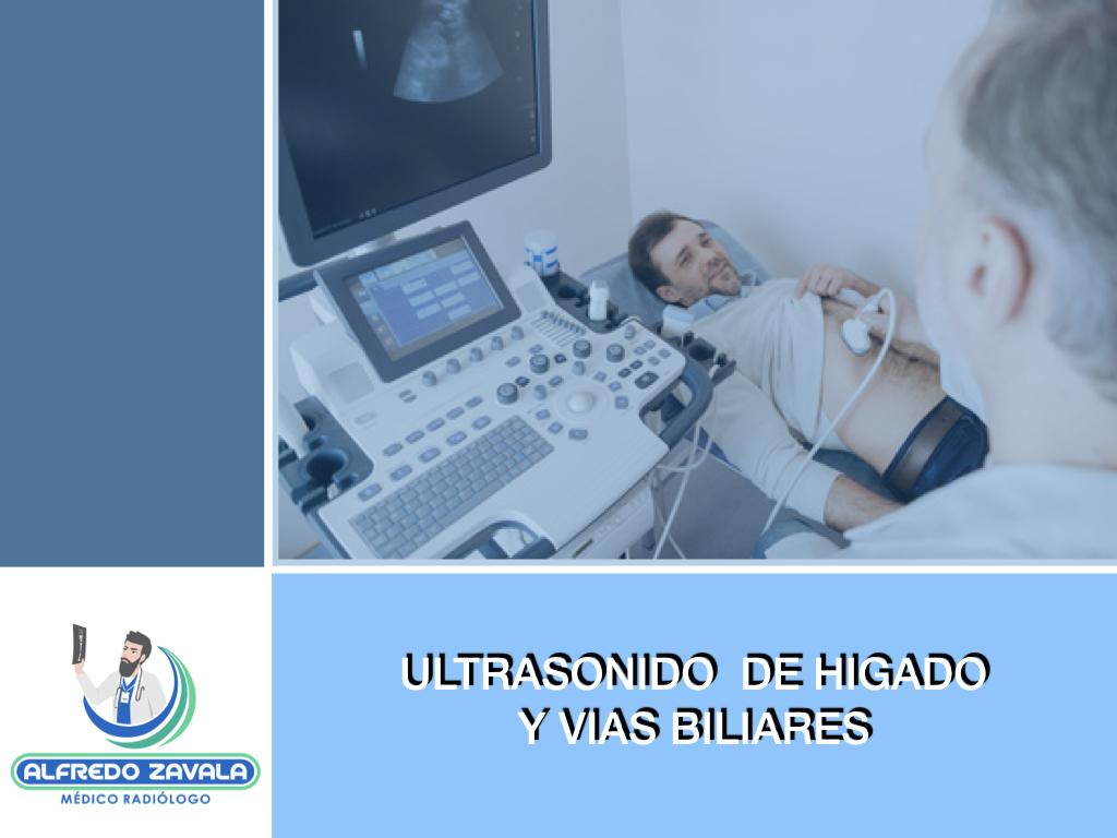 Ultrasonido de hígado y vias biliares en Querétaro